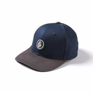VOLCOM QUARTER STRETCH FITTED HAT  NEW